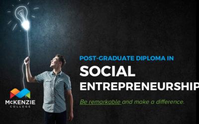 McKenzie College Social Entrepreneurship Program