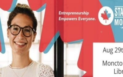 Startup Greater Moncton – Networking Event – August 29, 2019, 6:00pm – 8:00pm