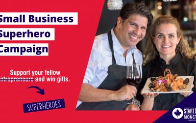 Small Business SuperHero Campaign